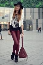 brick red Bon Prix pants