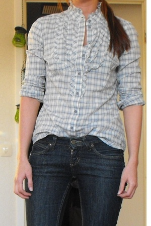 Tommy Hilfiger blouse - Lee jeans