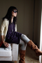 Gap sweater - Urban Outfitters dress - Urban Outfitters boots