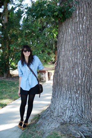 shirt - delias shorts - modcloth shoes