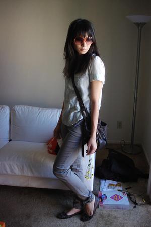 Gap shirt - Urban Outfitters pants - Urban Outfitters shoes - Urban Outfitters p