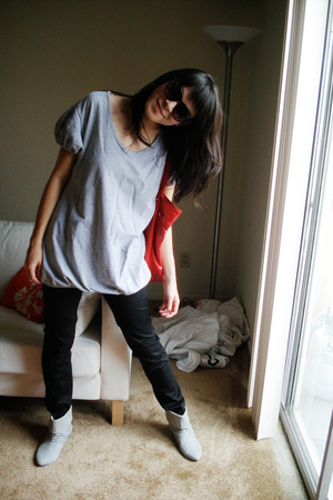 Urban Outfitters boots - Urban Outfitters pants - Urban Outfitters shirt - alloy