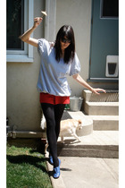 Urban Outfitters shirt - shorts - asos shoes