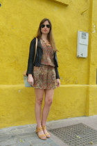 Zara dress - Me Late jacket - Uterque bag - Bimba & Lola sandals