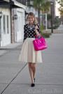 Forever-21-sweater-kate-spade-bag-ann-taylor-blouse-zara-heels