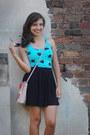 Salmon-jessica-simpson-bag-black-target-skirt
