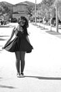 Black-american-apparel-dress-gray-zara-leggings-black-novus-shoes