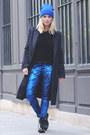 Black-shiny-dr-martens-boots-black-mohair-maison-martin-margiela-coat