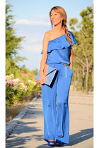 blue GASA dress
