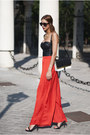 Black-zara-bag-black-zara-sandals-black-suiteblanco-top-red-zara-pants