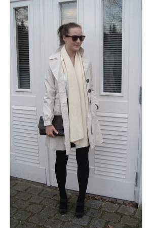 H&M coat - Zara shoes - Urban Outfitters glasses