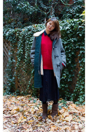 Ugg boots - 31 Phillip Lim coat - Club Monaco sweater - 31 Phillip Lim shirt
