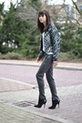 Printed-bomber-ready-to-fish-jacket-zara-shirt-nowhere-pants-zara-heels