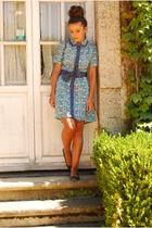 blue Mintmelon dress - blue Coolway shoes