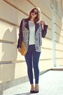 Navy-topshop-jeans-black-tally-weijl-jacket-ivory-new-look-sweater