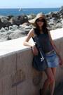 Camel-terranova-hat-periwinkle-terranova-bag-sky-blue-denim-skirt
