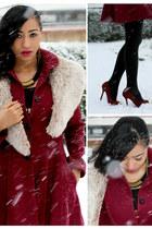 Topshop coat - Matalan shoes