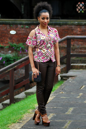 TK Maxx top - Miss Selfridge shoes - H&M pants