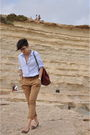 Blue-united-colors-of-benetton-shirt-brown-zara-pants-brown-zara-belt-red-