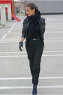 Black-morgan-jacket-black-zara-pants-black-monton-top-blue-cara-boots-bl