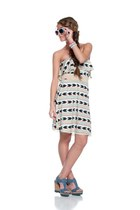 eggshell Lucky B Boutique dress