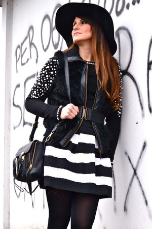 black OASAP hat - black 31 Phillip Lim bag - black OASAP skirt