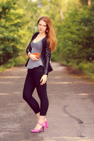 AX Paris jacket - H&M top