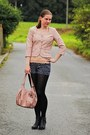 Reno-shoes-stradivarius-jacket-orsay-tights-c-a-bag-new-yorker-shorts