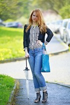AHAISHOPPING shirt - reno shoes - H&M jeans - Forever 21 blazer