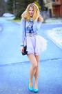 Turquoise-blue-shoes-periwinkle-sammydress-dress