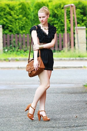 Pimkie shoes - Zara bag - H&M romper