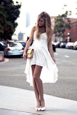 vintage bag Chanel bag - waterfall dress 720four dress