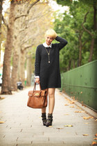 SANDRO boots - AMERICAN VINTAGE dress - Mulberry bag