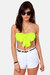 chartreuse LuLus top