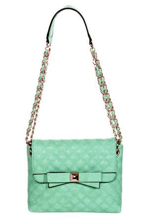 aquamarine LuLus purse