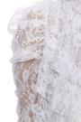 Ivory Lace LuLus Blouses Black Patent Leather LuLus Wedges Neutral LuLus Heels