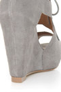 Heather Gray Lu Lus Heels