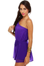 Purple Lu Lus Rompers