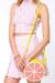 light pink LuLus bag