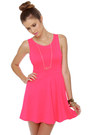 Hot Pink LuLus Dresses
