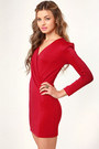 Red LuLus Dresses