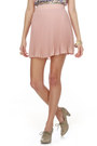 Beige Bow Print LuLus Blouses Light Pink Pleated LuLus Skirts Gray Oxford LuLus