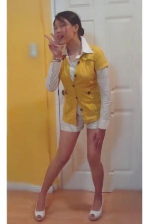 blouse - blouse - shorts - shorts - accessories
