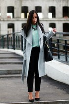 Zara shirt - Mango coat - Zara bag - Zara pants