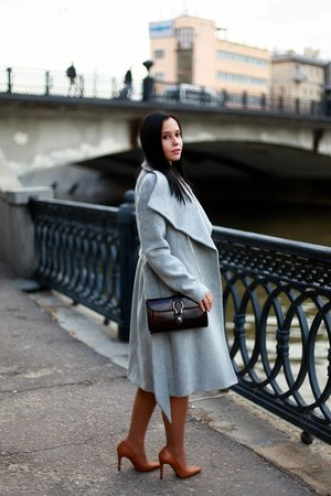 Mango coat - Zara shoes