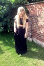 Zara-skirt-kurt-geiger-flats-orelia-necklace-newlook-top