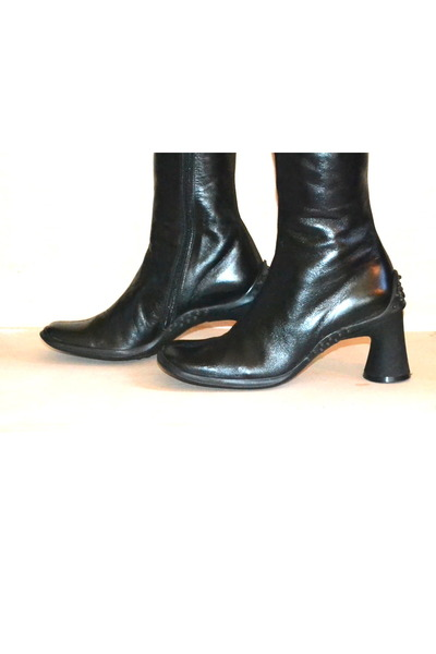 leather boots Barneys New York boots