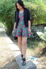 Black-random-from-hong-kong-blazer-green-victorias-secret-dress-black-custom