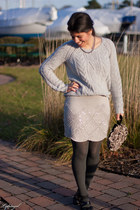 Urban Outfitters skirt - Gap sweater - adrienne vittadini heels