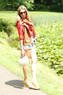 Old-navy-shirt-forever-21-scarf-vintage-shorts-karen-walker-sunglasses-z